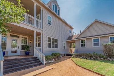 Lago Vista Single Family Home For Sale: 20000 Victoria Chase Rd