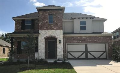 Leander Single Family Home For Sale: 2633 Steece Way