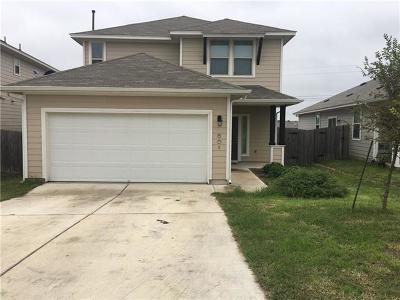 Buda Single Family Home For Sale: 601 Twisted Oaks Ln