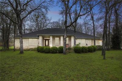 Cedar Creek Single Family Home For Sale: 190 Sabine Dr