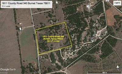 Burnet TX Farm For Sale: $215,000