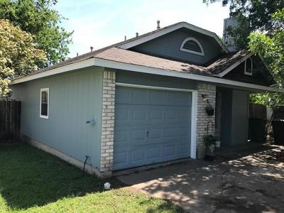 Round Rock Single Family Home Pending - Taking Backups: 909 Meadowcreek Dr