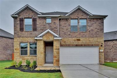 Leander Single Family Home For Sale: 533 American Trail