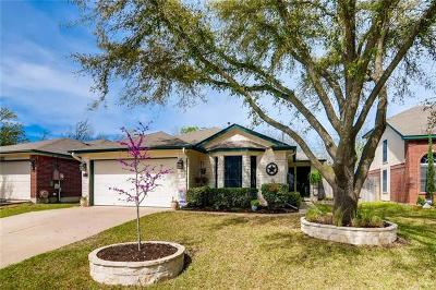 Round Rock Single Family Home For Sale: 1418 Thibodeaux Dr