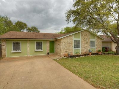 Round Rock Single Family Home Pending - Taking Backups: 4006 Stoney Hl