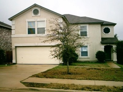 Cedar Park Single Family Home For Sale: 1804 Ruthie Run