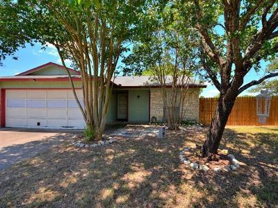 Cedar Park Single Family Home Pending - Taking Backups: 501 Riverwood Dr