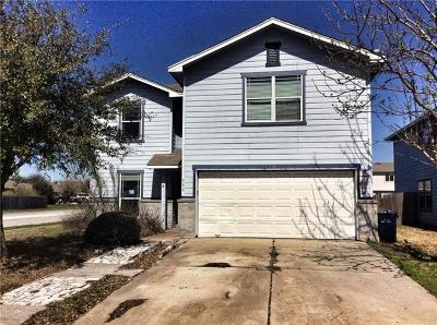 Hutto Single Family Home For Sale: 338 Liberty St