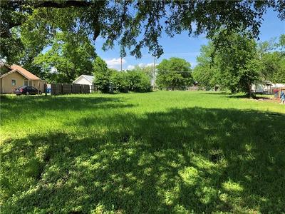 Bastrop County Residential Lots & Land For Sale: 1109 N Avenue C