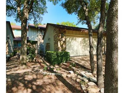 Travis County Condo/Townhouse For Sale: 8316 Bent Tree Rd