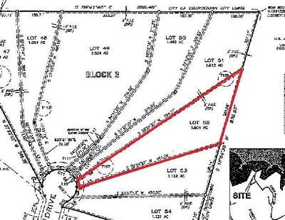Georgetown Residential Lots & Land For Sale: 1318 Eagle Point Dr