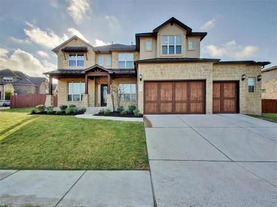 Cedar Park Single Family Home Active Contingent: 2907 Grand Oaks Loop