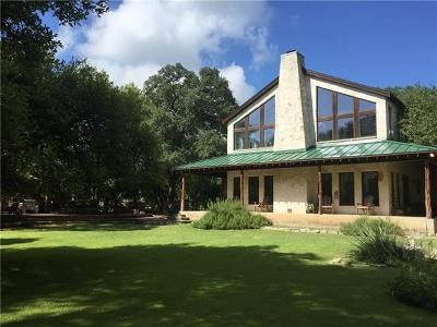 Wimberley Single Family Home For Sale: 100 Water Park Rd