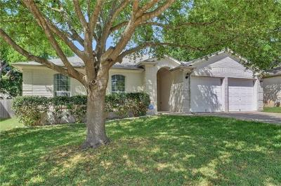 Round Rock Single Family Home Pending - Taking Backups: 1318 Solitaire