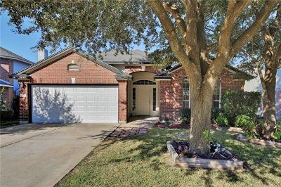 Round Rock Single Family Home Pending - Taking Backups: 17404 Zola Ln