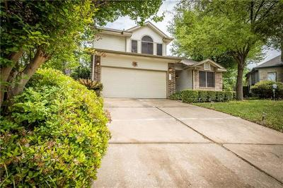 Round Rock Single Family Home For Sale: 1715 Morningside Cv