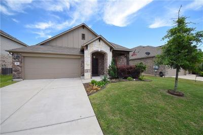 Hutto Single Family Home For Sale: 103 Wallin Farms Dr