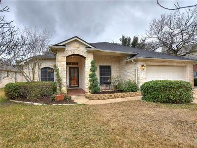 Round Rock Single Family Home For Sale: 3013 Bent Tree Loop