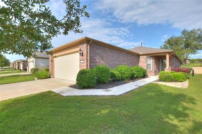 Georgetown Single Family Home For Sale: 306 Salado Creek Ln