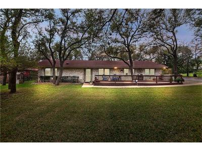 Cedar Park Single Family Home For Sale: 605 Marquis Ln