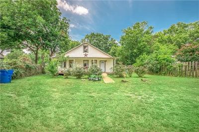 Bastrop Single Family Home Pending - Taking Backups: 1820 Pecan St
