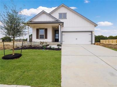 Leander Single Family Home For Sale: 2213 Ringstaff Rd