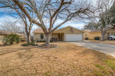 Georgetown Single Family Home Pending - Taking Backups: 805 Thousand Oaks Blvd