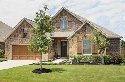 Leander Single Family Home For Sale: 1605 Burr Pkwy