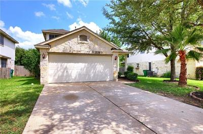 Round Rock Single Family Home For Sale: 17415 Toyahville Trl