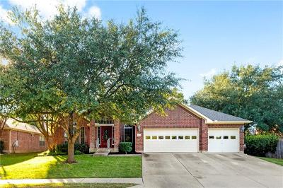 Round Rock Single Family Home For Sale: 2804 Phoenix Way