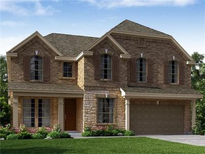 Round Rock Single Family Home For Sale: 2268 Hat Bender Loop