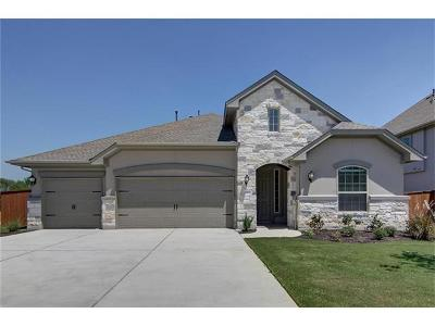 Round Rock Single Family Home For Sale: 5029 Savio Dr
