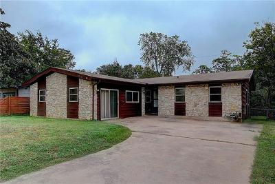 Travis County Single Family Home For Sale: 1711 Loreto Dr
