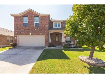 Round Rock Single Family Home For Sale: 1417 Rainbow Parke Dr