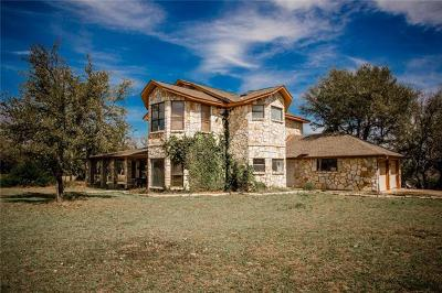 Dripping Springs Single Family Home For Sale: 3011 Deadwood Stage Rd