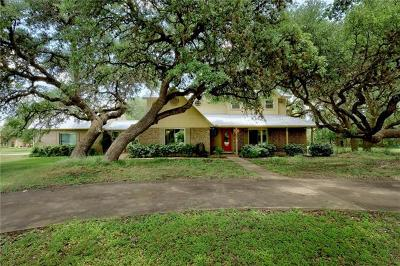 Dripping Springs Single Family Home For Sale: 400 Oak Springs Dr