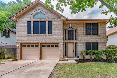 Travis County, Williamson County Single Family Home Pending - Taking Backups: 7610 Elkhorn Mountain Trl