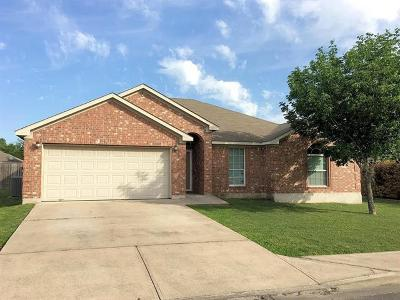 Lockhart Single Family Home Pending - Taking Backups: 1605 Paint Brush Dr