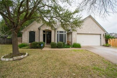 Round Rock Single Family Home Pending - Taking Backups: 906 Rock Spring Cv