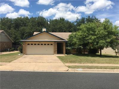 Leander Single Family Home For Sale: 2604 N Walker Dr