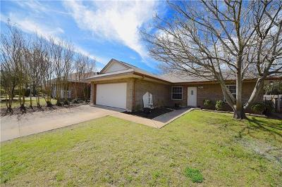Leander Single Family Home Pending - Taking Backups: 821 Coyote Ln
