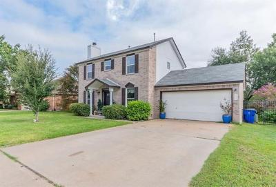 Cedar Park Single Family Home For Sale: 114 Bamboo Trl