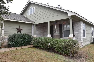 Bastrop TX Single Family Home Pending - Taking Backups: $185,000