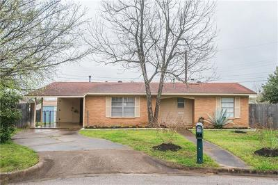 Austin Single Family Home For Sale: 6303 Windslow Ct