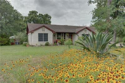 Bastrop County Single Family Home Pending - Taking Backups: 199 Mount Olive Rd