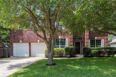 Round Rock Single Family Home Pending - Taking Backups: 3708 Laurel Bay Loop