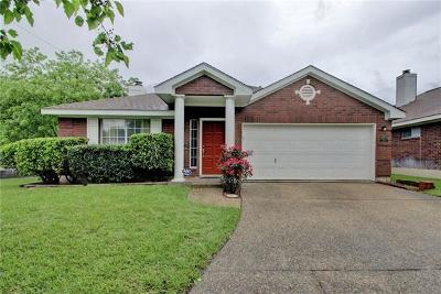 Pflugerville Single Family Home For Sale: 16900 Ardisia Dr