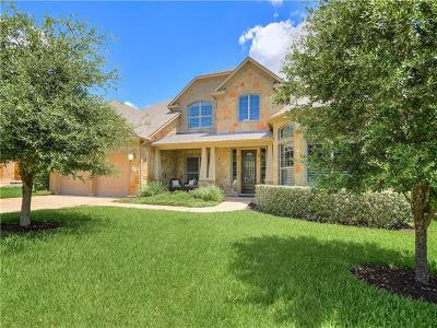 Cedar Park Single Family Home For Sale: 3917 Knob Creek Ln