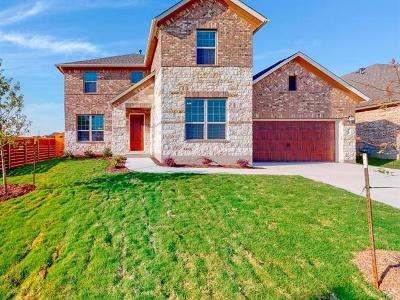 Hutto Single Family Home For Sale: 1308 Knowles Dr