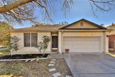 Hays County, Travis County, Williamson County Single Family Home Pending - Taking Backups: 8201 Edgemoor Pl